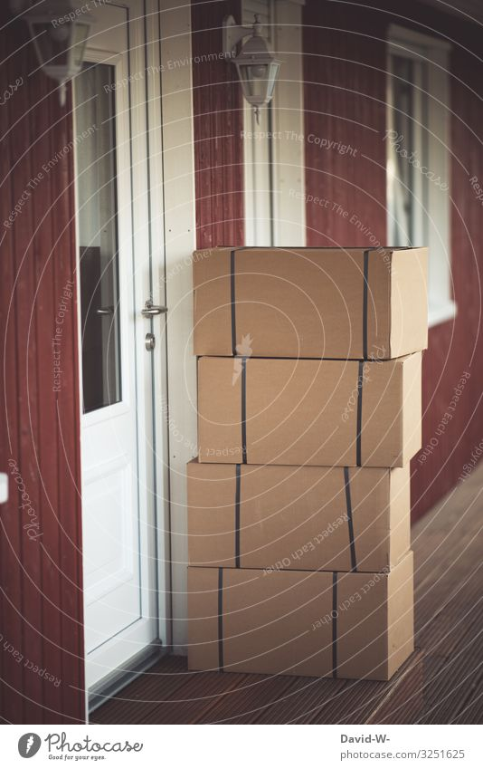 Die Post war da Lifestyle kaufen Reichtum Stil Geld Häusliches Leben Wohnung Haus Umzug (Wohnungswechsel) einrichten Kapitalwirtschaft Business Mensch