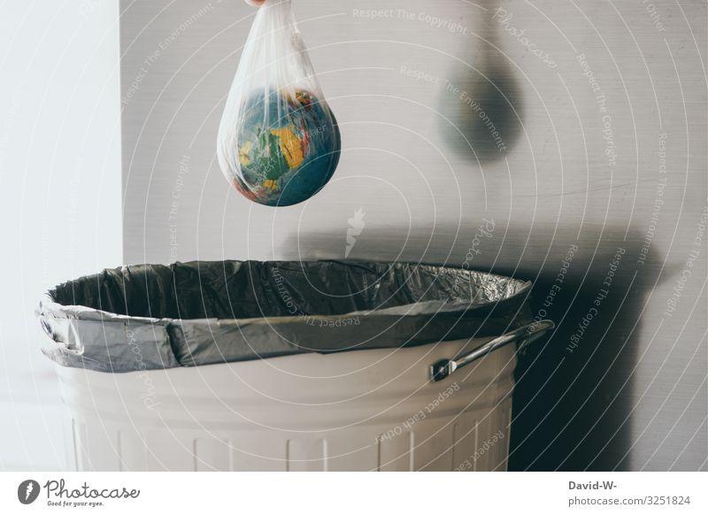 ohne Worte Mensch Natur Lifestyle Leben Umwelt Gefühle Stil Kunst Erde Wohnung Angst Zukunft kaufen Klima Zukunftsangst Kunststoff