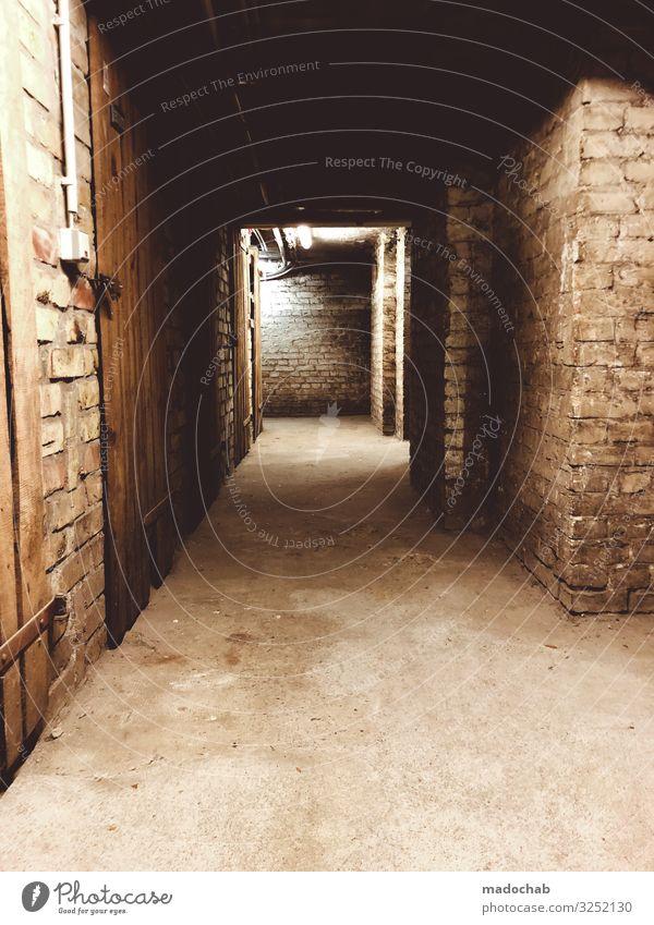 Keller Mauer Wand alt dreckig dunkel Ekel gruselig hässlich historisch kalt kaputt ruhig Angst Entsetzen Todesangst gefährlich Nervosität Schüchternheit Armut