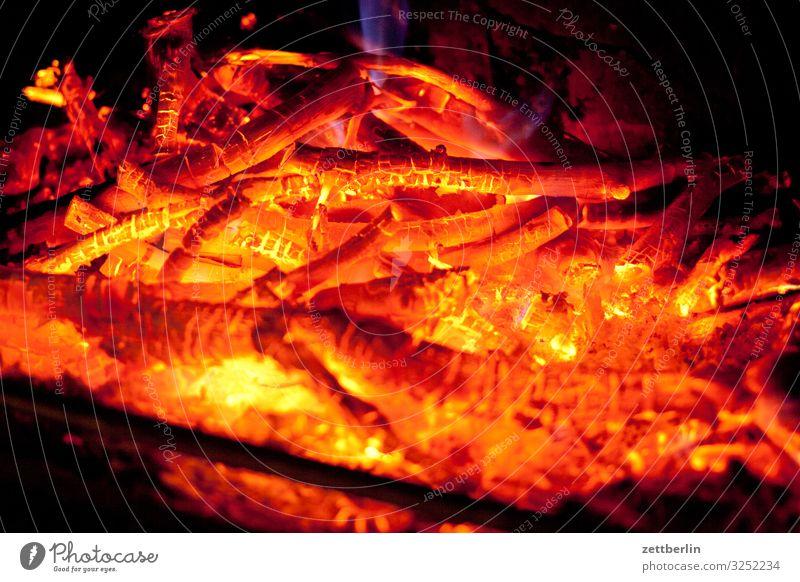 Feuer im Ofen Winter Wärme Häusliches Leben Wohnung Brand heiß brennen Heizung Herd & Backofen Kamin heizen Glut Ofenheizung Kohlendioxid Kaminfeuer