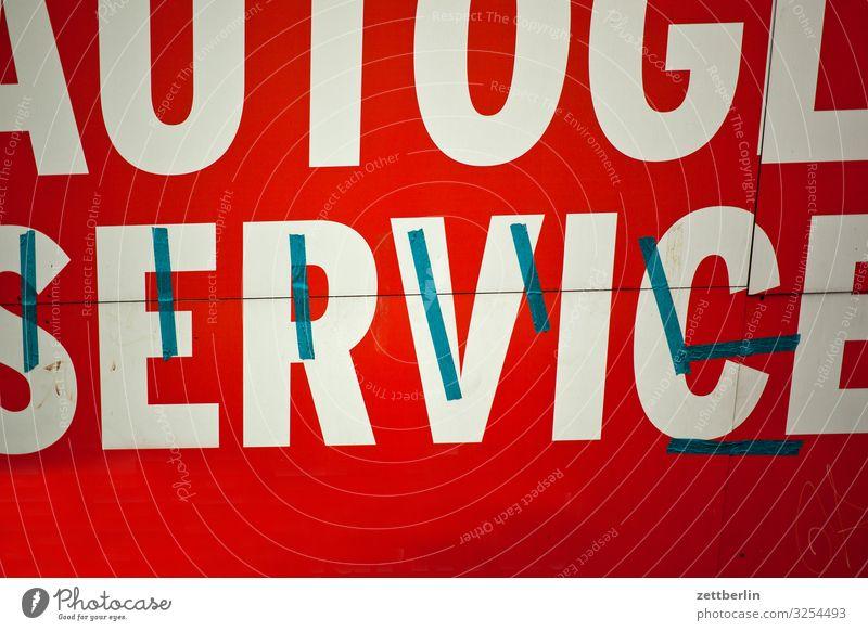 Service Reparatur Autofenster Schilder & Markierungen Schriftzeichen Typographie Dienstleistungsgewerbe Werbung Werbebranche Werkstatt