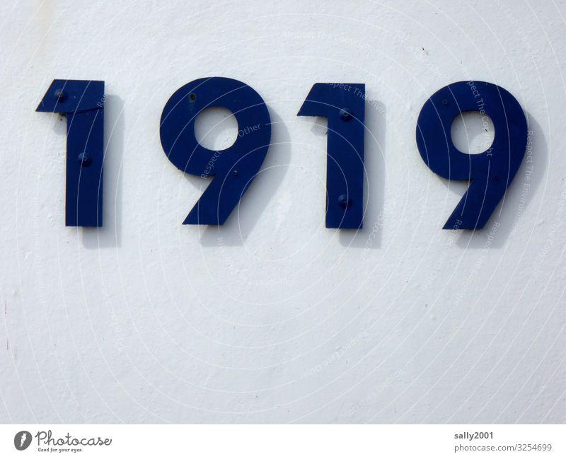 HAPPY BIRTHDAY PHOTOCASE ZUM 19. GEBURTSTAG!!! Zahl 1919 Jahreszahl Ziffern Nummer Hausnummer Wand Mauer Zeichen Schilder & Markierungen Textfreiraum unten