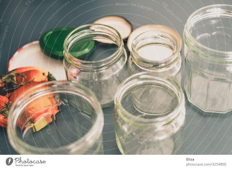 Schraubgläser Glas Küche nachhaltig Verschlussdeckel Recycling umweltfreundlich Marmelade konservieren Einmachglas Verpackungsmaterial Marmeladenglas