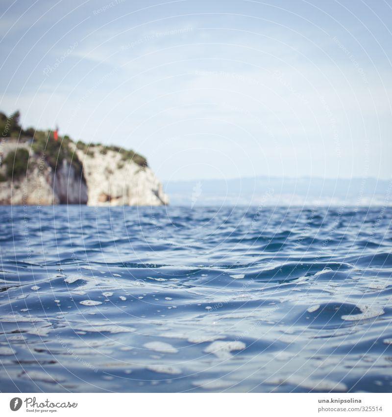 mehr meer für alle Himmel Ferien & Urlaub & Reisen blau Wasser Sommer Meer Landschaft Umwelt Küste Wellen Insel nass Schönes Wetter Sommerurlaub