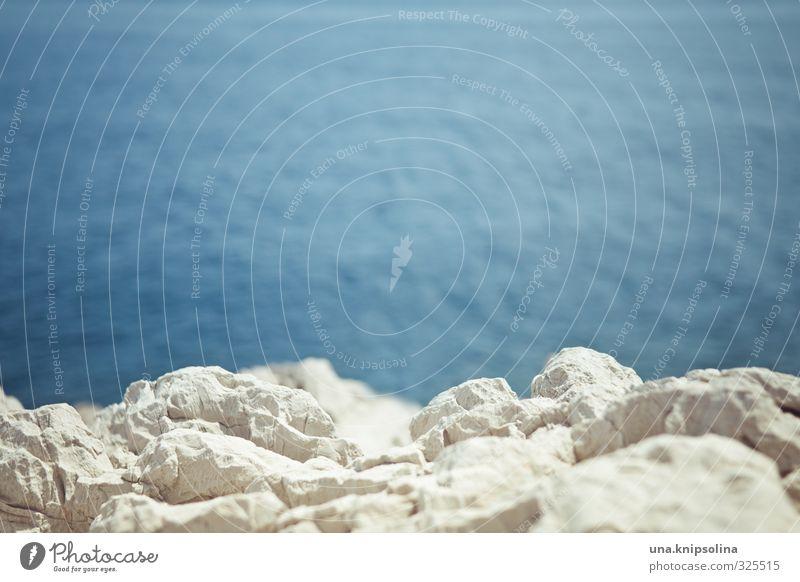 küste blau Wasser Meer Landschaft Umwelt Wärme Küste Felsen Wellen Sommerurlaub