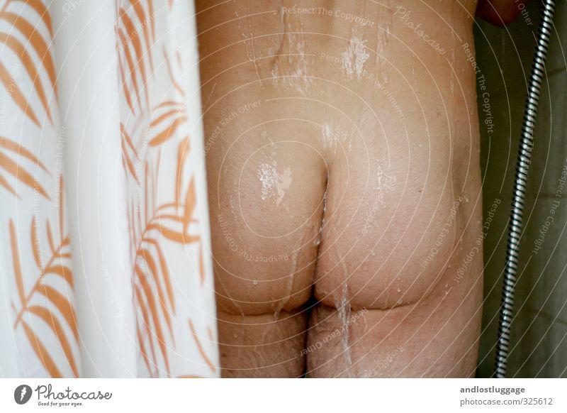 waschtag II Mensch Jugendliche schön Wasser nackt Erholung 18-30 Jahre Junger Mann Erwachsene Gesundheit maskulin Körper Haut stehen frisch ästhetisch