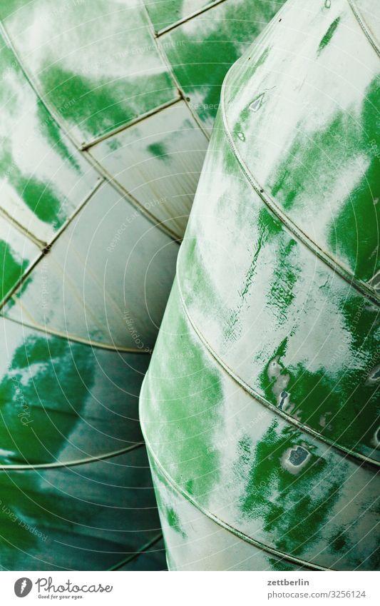 Fernwärme Röhren Eisenrohr Rohrleitung Pipeline Wärme Wärmeleitung Metall Isolierung (Material) Blech Menschenleer Textfreiraum Strukturen & Formen