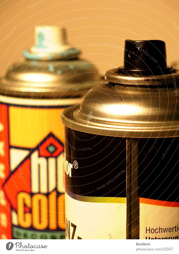 Spraydose2 Farbe Stil Graffiti Dose Spray Fototechnik