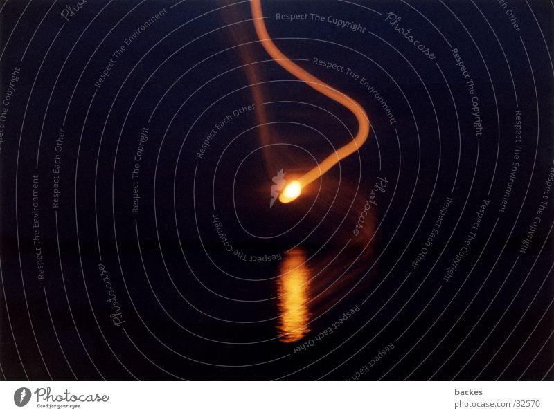 sundown swirl Bewegung lang Wildtier Belichtung Wasserwirbel