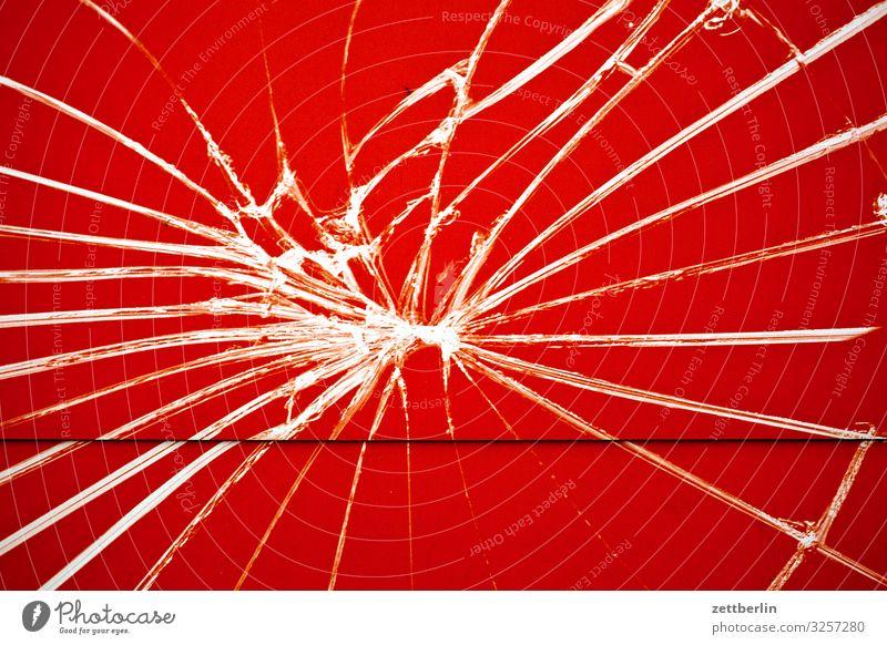 Zersplitterte Scheibe Reparatur Fensterscheibe Scherbe Schilder & Markierungen Schriftzeichen Dienstleistungsgewerbe Splitter Typographie Werbung Werbebranche