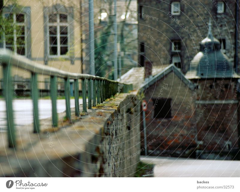 ohne Ende Mauer Architektur Geländer Fluchtpunkt