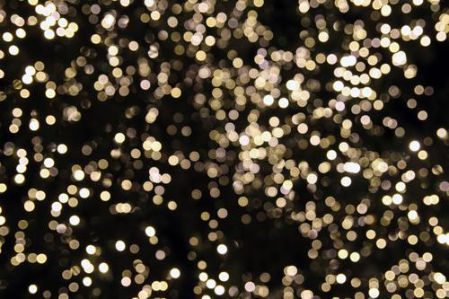 Lichtermeer Design Freude Feste & Feiern Weihnachten & Advent Silvester u. Neujahr Show Party glänzend leuchten ästhetisch Fröhlichkeit modern gold schwarz weiß