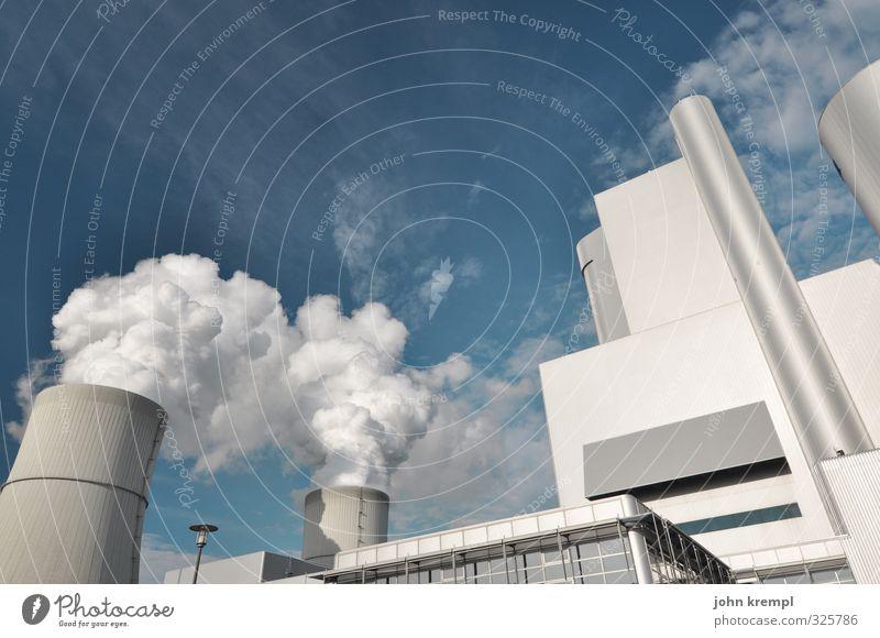 Black Pampi blau Umwelt Energiewirtschaft groß Wachstum hoch Elektrizität bedrohlich Wandel & Veränderung Macht Rauchen Bundesadler silber Umweltschutz
