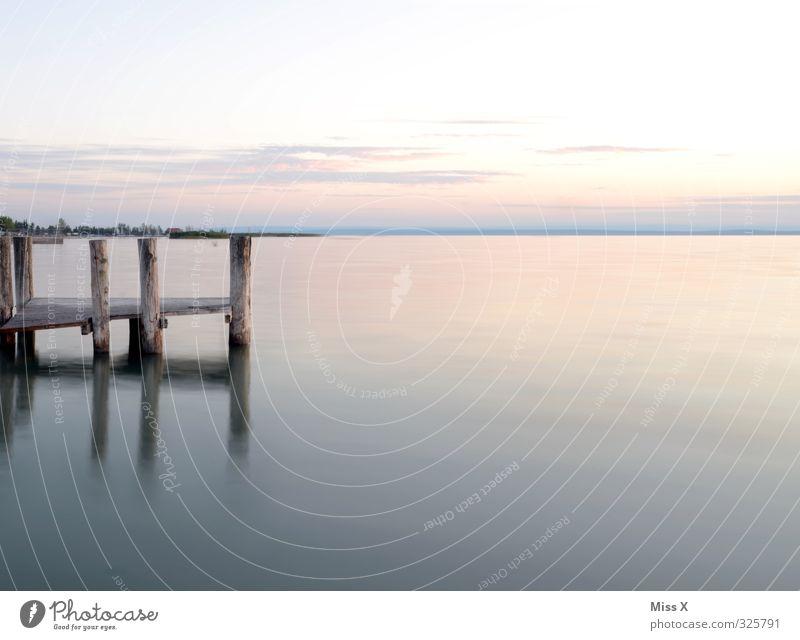 Aussicht Himmel Natur Ferien & Urlaub & Reisen Wasser Sommer Meer Erholung ruhig Strand Ferne Küste Freiheit See Horizont Stimmung Tourismus