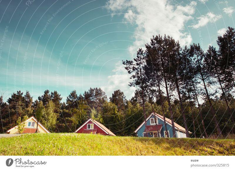 3-2-1 ... meins! Lifestyle Erholung ruhig Ferien & Urlaub & Reisen Freiheit Sommerurlaub Häusliches Leben Haus Umwelt Natur Landschaft Himmel Wolken Klima