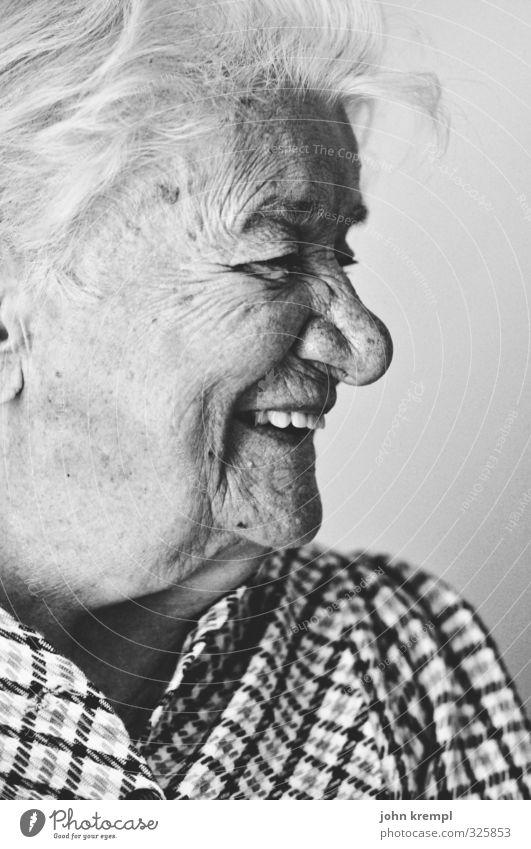 auf die nächsten hundert Mensch Frau alt Gesicht Senior feminin lachen Gesundheit Zufriedenheit Fröhlichkeit 60 und älter Lebensfreude Weiblicher Senior Hautfalten Großmutter Güte