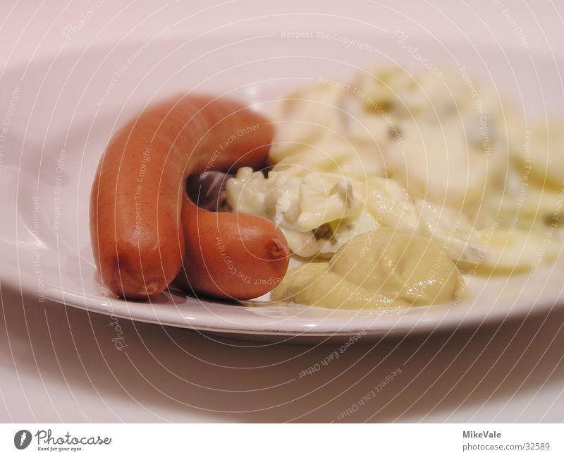 Wurst Ernährung Deutschland einfach Salat Wurstwaren Kartoffeln Fleisch