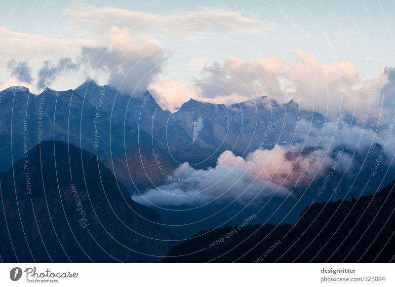 Drachenberg Ferien & Urlaub & Reisen Ausflug Abenteuer Ferne Freiheit Berge u. Gebirge wandern Wolken Klima Wetter Schönes Wetter Felsen Alpen Gipfel Schlucht