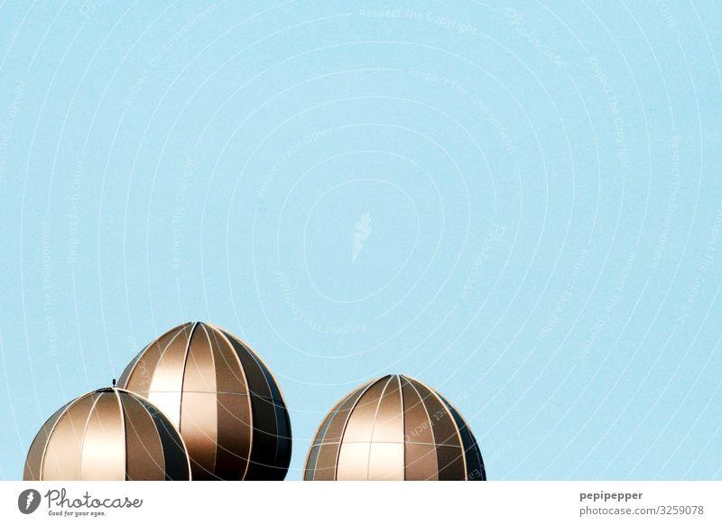 Goldkuppeln Ferien & Urlaub & Reisen Tourismus Ausflug Sightseeing nur Himmel Wolkenloser Himmel Palast Bauwerk Gebäude Architektur Mauer Wand Fassade Dach