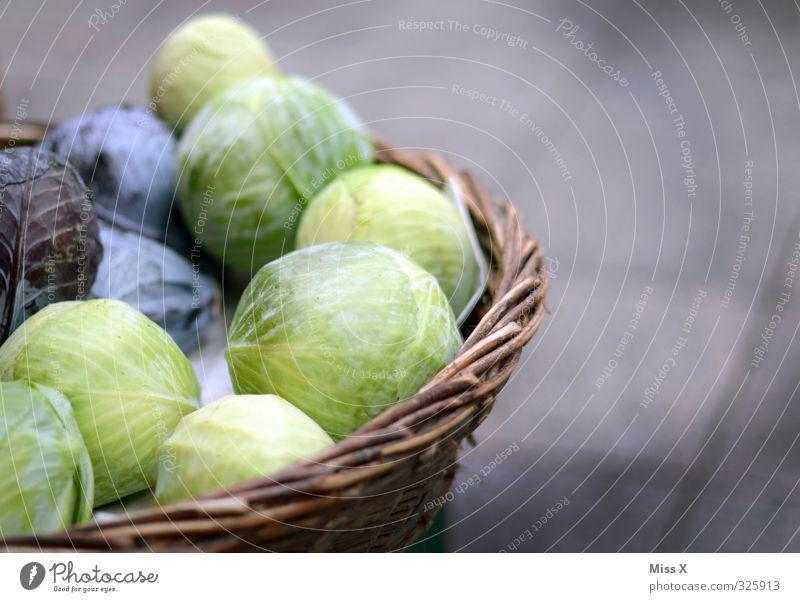 Cool Gemüse Salat Salatbeilage Ernährung Essen Bioprodukte Vegetarische Ernährung Diät frisch Gesundheit lecker Wochenmarkt Gemüsehändler Gemüseladen Rotkohl