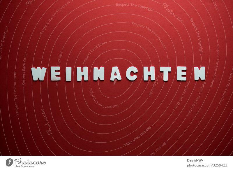 Weihnachten Mensch Weihnachten & Advent rot Freude Lifestyle Leben Liebe Familie & Verwandtschaft Glück Stil Kunst Zusammensein Design Schriftzeichen elegant