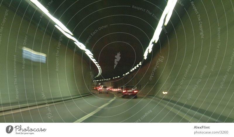 tunnel1 Schweiz Autobahn Tunnel Fototechnik