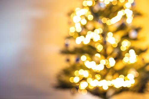 Weihnachtsbaum verschwommen und unscharf heller Hintergrund Design Glück Winter Schnee Dekoration & Verzierung Tapete Feste & Feiern Weihnachten & Advent Baum
