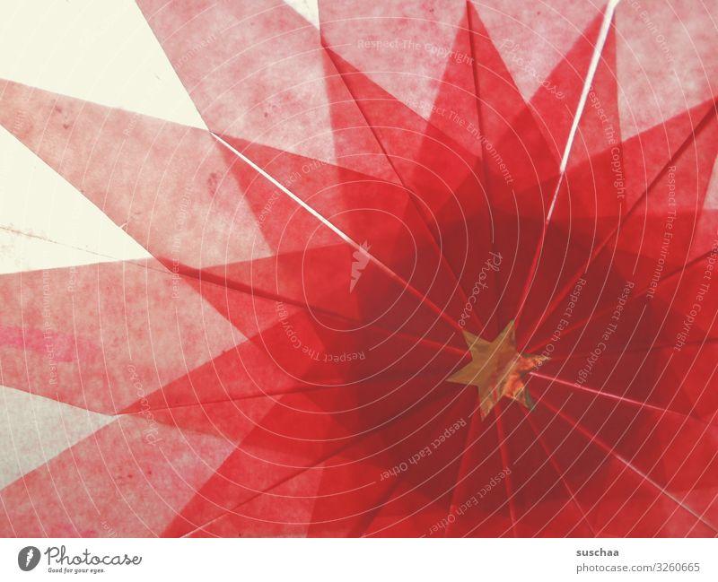 stern Kind Weihnachten & Advent rot Stern (Symbol) Papier durchsichtig Kindergarten Basteln Origami
