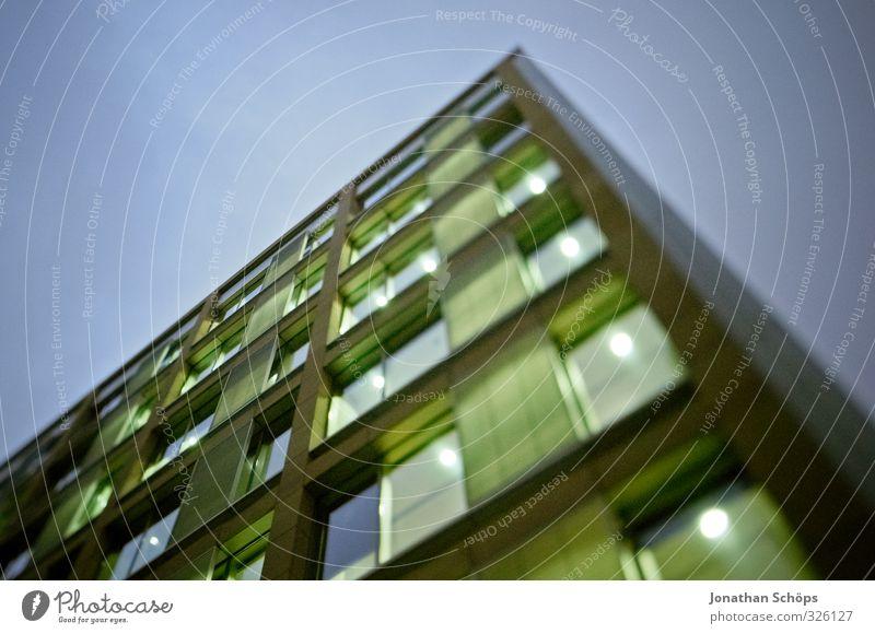 Tilt & Shift Sheffield II Stadt grün Haus Architektur Gebäude Business Hochhaus bedrohlich Macht violett Bauwerk Bankgebäude Skyline aufwärts Reichtum