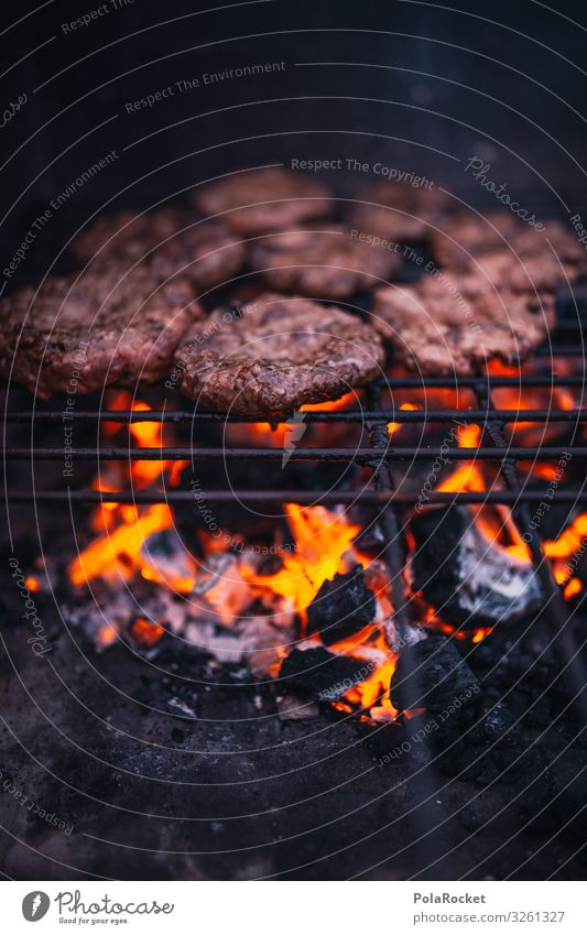 #A0# Grillerchen Kunst ästhetisch Grillen Grillrost Grillkohle Grillsaison Grillplatz Fleisch Holzkohle Farbfoto Gedeckte Farben Außenaufnahme Detailaufnahme