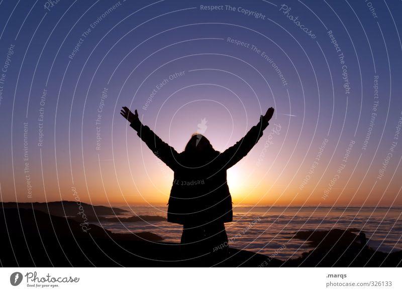 HAPPY BIRTHDAY PHOTOCASE! Lifestyle Ausflug Abenteuer Ferne Freiheit Mensch 1 Umwelt Natur Landschaft Wolkenloser Himmel Horizont Schönes Wetter atmen Glück