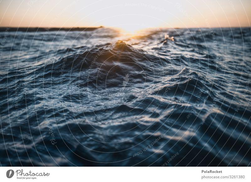 #A0# Atlantische Brust Umwelt Klima Klimawandel Wetter Schönes Wetter ästhetisch Wasser Wellen Meer Wellengang Wellenform Wellenkuppe Meerwasser