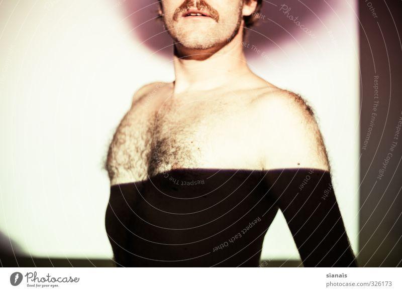 dip dye schön Mensch maskulin Homosexualität Mann Erwachsene Brust 30-45 Jahre Theaterschauspiel Haare & Frisuren Bart Oberlippenbart Behaarung Brustbehaarung