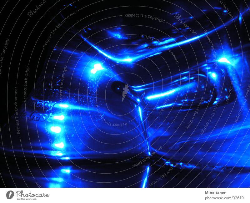 Blaues Wunder blau Küche Dinge Statue Salz Leuchtdiode Salzstreuer