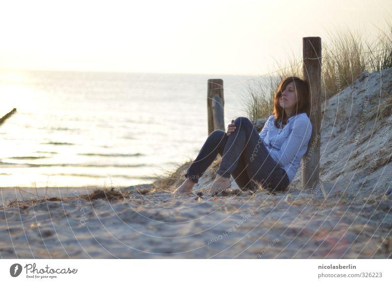 Genießen | Füße in den Sand harmonisch Wohlgefühl Zufriedenheit Sinnesorgane Erholung ruhig Meditation Ferien & Urlaub & Reisen Tourismus Ausflug Abenteuer