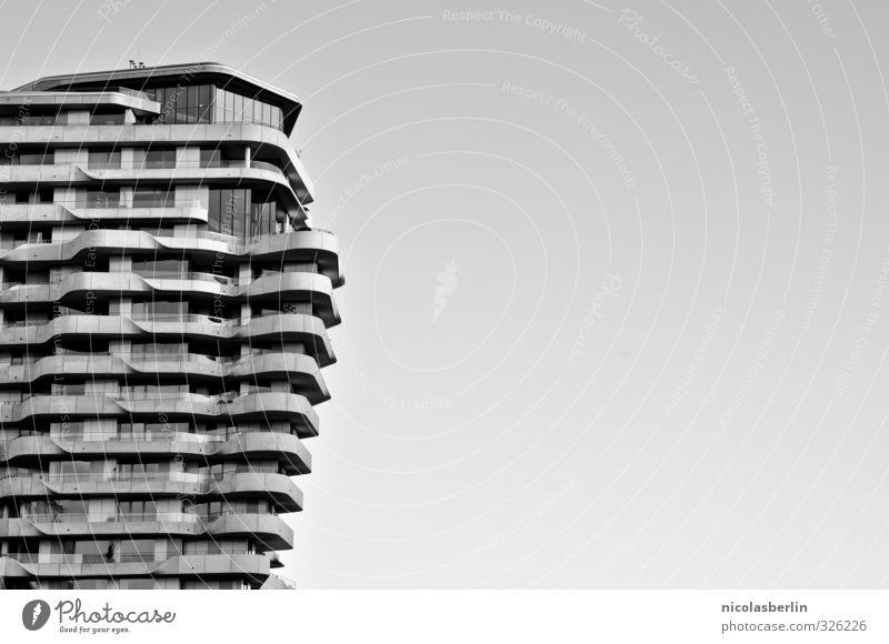 Stockwerk | die moderne Platte Stadt schön Haus Architektur Stil außergewöhnlich Fassade Wohnung Häusliches Leben elegant Kraft Design Hochhaus ästhetisch Coolness Hamburg
