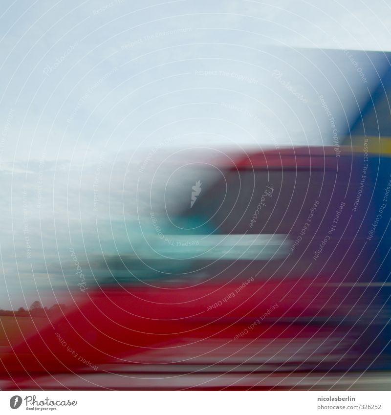 Rush Ferien & Urlaub & Reisen Ausflug Abenteuer Freiheit Wirtschaft Güterverkehr & Logistik Dienstleistungsgewerbe Himmel Klimawandel Verkehr Autofahren