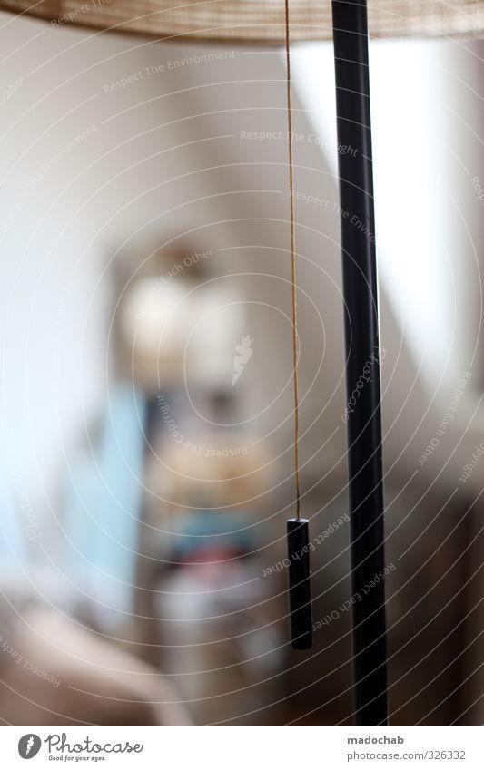 Eingestellt: 10. Dez. 2012 Lifestyle Stil Häusliches Leben Wohnung Warmherzigkeit Gelassenheit Ferne ruhig Stehlampe retro Farbfoto Gedeckte Farben