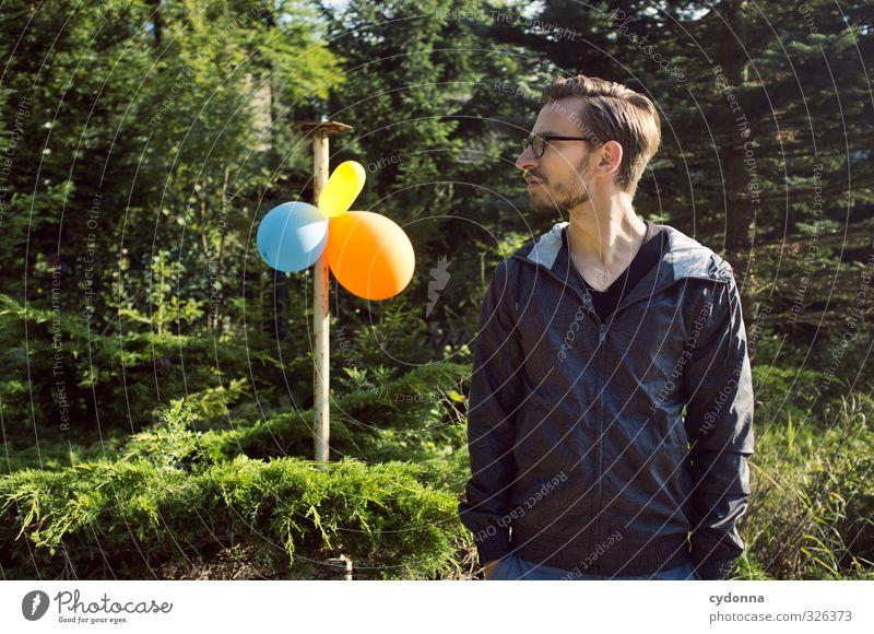 Zu Gast Mensch Natur Jugendliche Sommer Baum Farbe Freude Wald Erwachsene Junger Mann Leben 18-30 Jahre Stil Feste & Feiern Party träumen