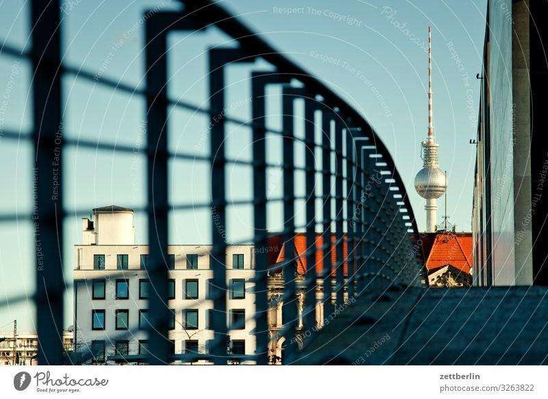Fernsehturm again Architektur Berlin Deutscher Bundestag Deutschland Hauptstadt Bundeskanzler Amt marie elisabeth lüders haus Parlament Regierung Regierungssitz