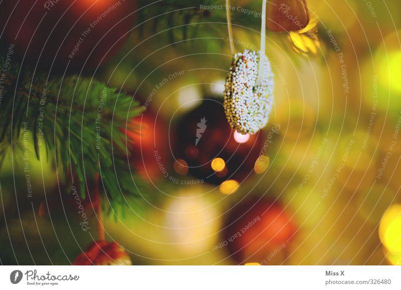 Weihnachtsdeko Lebensmittel Süßwaren Schokolade Ernährung Feste & Feiern Weihnachten & Advent leuchten lecker süß Stimmung Weihnachtsbaum Weihnachtsdekoration