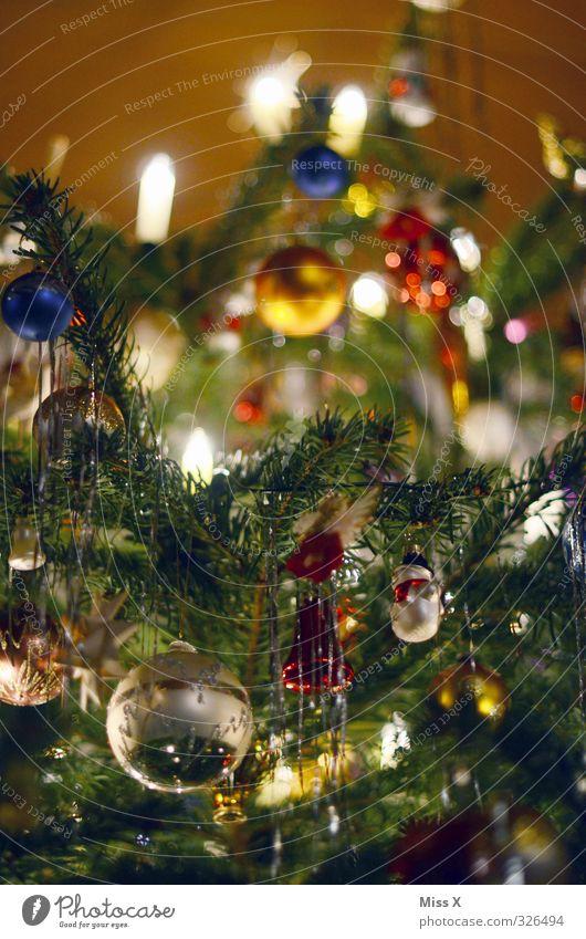 Weihnachtsdeko Weihnachten & Advent glänzend leuchten Dekoration & Verzierung Kerze Weihnachtsbaum Christbaumkugel Weihnachtsdekoration Kerzenschein Tannenzweig