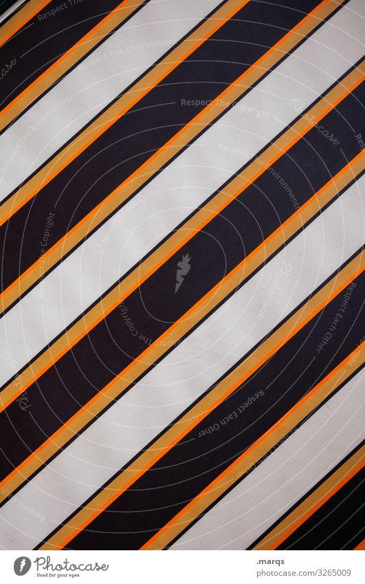 Quer Camping Mauer Wand Kunststoff Linie Streifen braun orange weiß Ordnung Hintergrundbild Grafik u. Illustration Farbfoto Außenaufnahme Muster Menschenleer