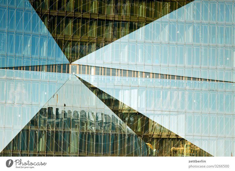 Cube Berlin again Architektur Hauptstadt Haus Regierungssitz Spree Spreebogen Fassade Glas Glasfassade Neubau neu modern Reflexion & Spiegelung Spiegelbild