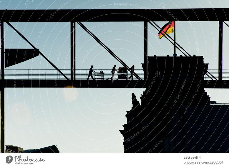 Catering im Bundestag Architektur Berlin Deutscher Bundestag Deutschland Deutsche Flagge Hauptstadt Bundeskanzler Amt marie elisabeth lüders haus Parlament