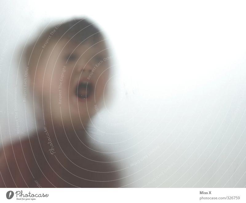 Stummer Schrei Mensch Kind Kleinkind 1 1-3 Jahre 3-8 Jahre Kindheit schreien Gefühle Stimmung Angst Todesangst Verzweiflung Wut Hilferuf Hilfesuchend Farbfoto