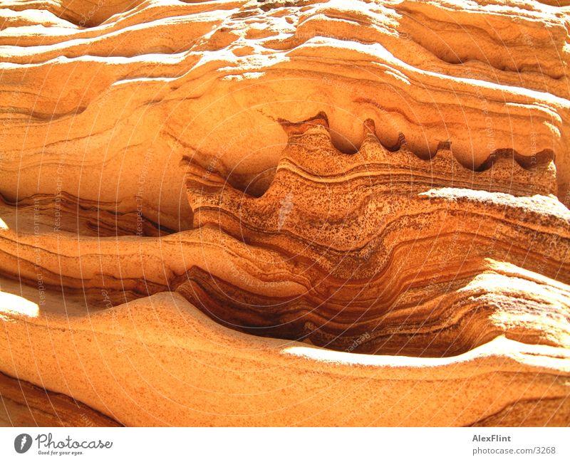 geschmolzen Stein fließen schmelzen