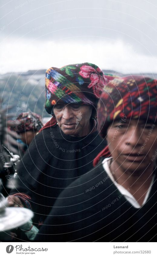 Maya Mensch Mann Farbe Menschengruppe Religion & Glaube Südamerika Ethnologie Guatemala