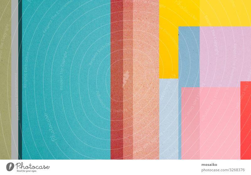 Papierstruktur - farbenfrohes Hintergrunddesign Lifestyle Stil Design Freude Glück Dekoration & Verzierung Tapete Entertainment Party Veranstaltung