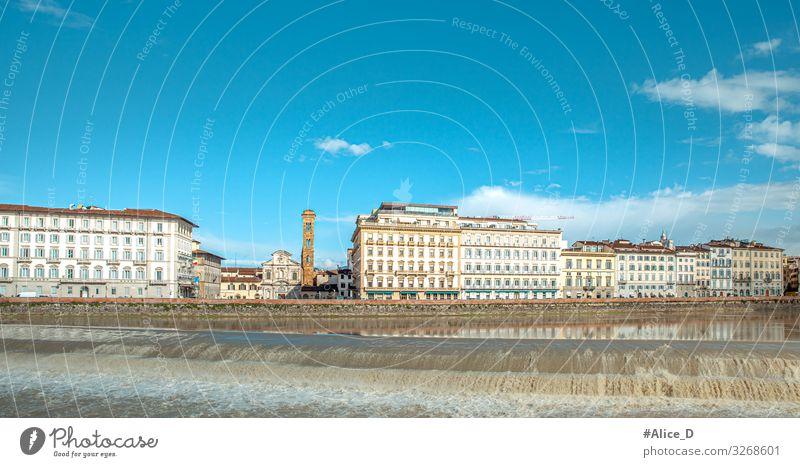 Florenz Toskana Italien Ferien & Urlaub & Reisen Sightseeing Städtereise Architektur Europa Stadt Hauptstadt Skyline Menschenleer Haus Sehenswürdigkeit